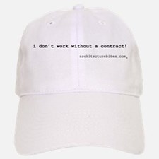 i don't work without a contra Baseball Baseball Cap