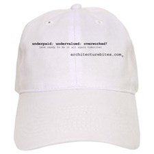 underpaid, undervalued, overw Baseball Cap