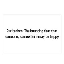 Puritanism: Hauting fear that someone is happy Pos