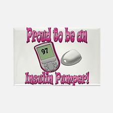 Proud to be Pumper V3 (girl) Rectangle Magnet (10