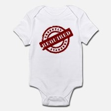 urgently required red Infant Bodysuit