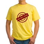 rejected red Yellow T-Shirt