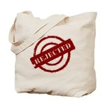 rejected red Tote Bag