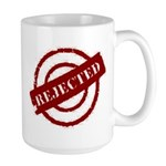 rejected red Large Mug