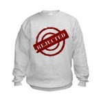 rejected red Kids Sweatshirt