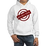 rejected red Hooded Sweatshirt