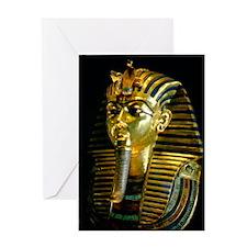 Egypt Pharao Mask Greeting Card