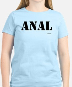 Anal - On a T-Shirt