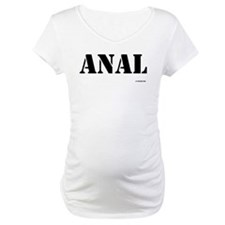 Anal - On a Shirt