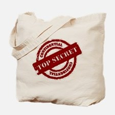 Top Secret Red Tote Bag