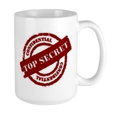 Top Secret Red Mug