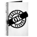 Tested Ok Black Journal