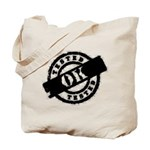 Tested Ok Black Tote Bag