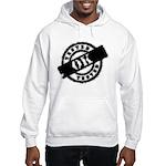 Tested Ok Black Hooded Sweatshirt