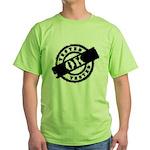 Tested Ok Black Green T-Shirt