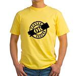 Tested Ok Black Yellow T-Shirt