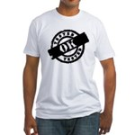 Tested Ok Black Fitted T-Shirt