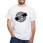 Tested Ok Black White T-Shirt