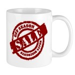 Off Season Sale red Mug