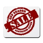 Off Season Sale red Mousepad