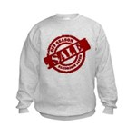 Off Season Sale red Kids Sweatshirt