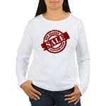 Off Season Sale red Women's Long Sleeve T-Shirt