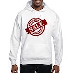 Off Season Sale red Hooded Sweatshirt