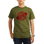 Off Season Sale red Organic Men's T-Shirt (dark)