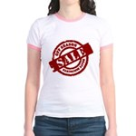 Off Season Sale red Jr. Ringer T-Shirt