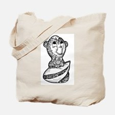 Cute Skunk sketch Tote Bag