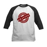 Permission Granted red Kids Baseball Jersey