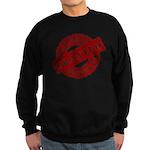 Permission Granted red Sweatshirt (dark)