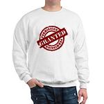 Permission Granted red Sweatshirt