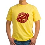 Permission Granted red Yellow T-Shirt
