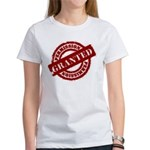 Permission Granted red Women's T-Shirt