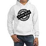 Quality Assured black Hooded Sweatshirt