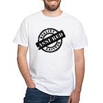 Quality Assured black White T-Shirt