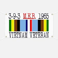 3-9-3 MEB 1965 Vietnam Veteran Banner