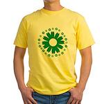 Sunflowers green Yellow T-Shirt