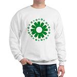 Sunflowers green Sweatshirt