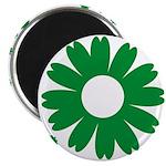 Sunflowers green Magnet