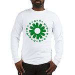 Sunflowers green Long Sleeve T-Shirt