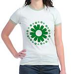 Sunflowers green Jr. Ringer T-Shirt