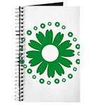 Sunflowers green Journal