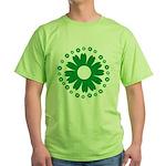 Sunflowers green Green T-Shirt