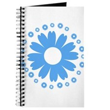 Sunflowers babyblue Journal