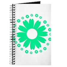 Sunflowers light green Journal