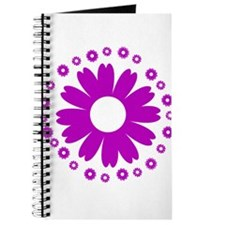 Sunflowers purple Journal