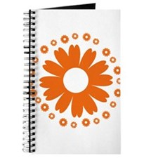 Sunflowers orange Journal