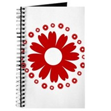 Sunflowers red Journal